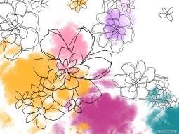 virágos színes