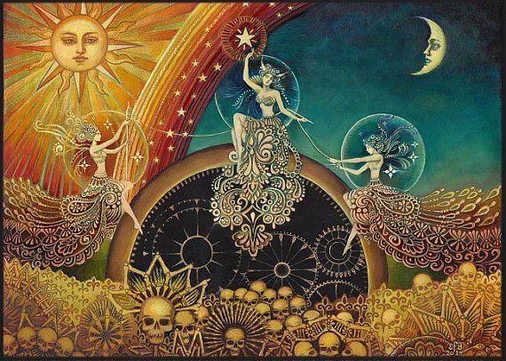 sors három istennője